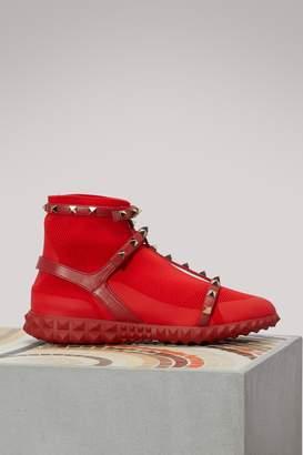 Valentino Bodytech Rockstud sneakers