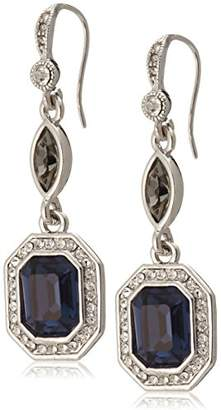 Carolee [キャロリー The Lena Blue Crystal Earrings 4738FW4108