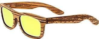 Earth Wood ESG005R Maya Polarized Sunglasses