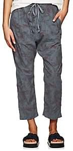 NSF Women's Jojo Floral Cotton Drop-Rise Pants - Black