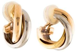 Cartier Clip-On Hoop Earrings