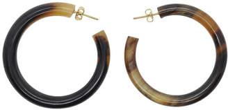 Soko Horn Hoop Earrings