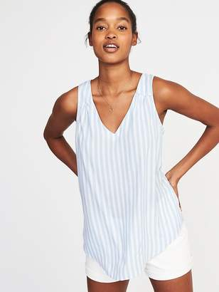 Old Navy Relaxed Sleeveless Cutout-Back Top for Women