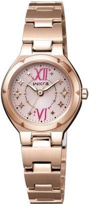 Wicca (ウィッカ) - [シチズン]CITIZEN 腕時計 wicca ウィッカ ソーラーテック NA15-1725E レディース