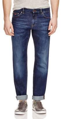 HUGO BOSS Maine Stretch Straight Fit Jeans in Indigo