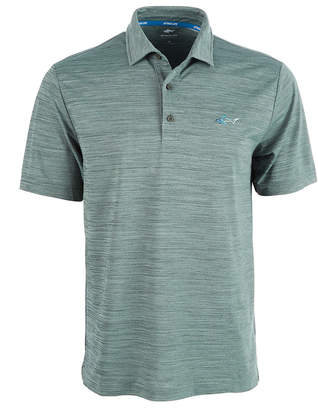 Greg Norman Attack Life by Men's 5 Iron Space-Dye Performance Golf Polo
