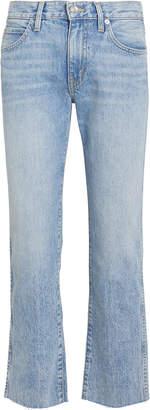 Slvrlake Denim Harper Cropped High-Rise Jeans
