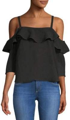 Rachel Pally Alder Cold-Shoulder Top