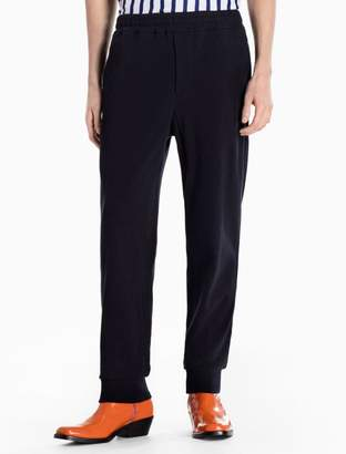 Calvin Klein cotton knit elasticated pants