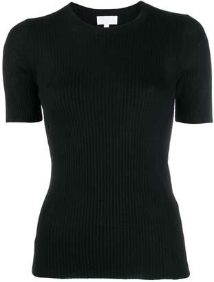Lala Berlin ribbed-knit short-sleeved top