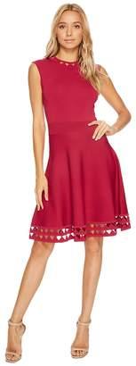 Ted Baker Kathryn Cutwork Knitted Skater Dress Women's Dress