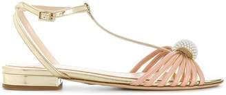 Lanvin pearl-embellished sandals