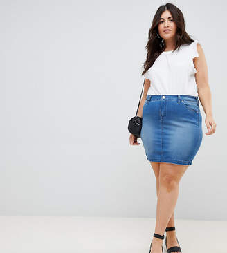 ab34361e89c Plus Size Denim Skirts - ShopStyle Australia