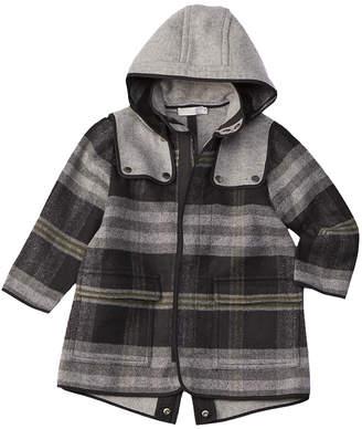Stella McCartney Beet Wool-Blend Coat