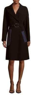 Max Mara Solid Long-Sleeve Jacket