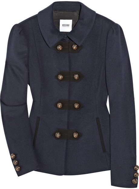Moschino Cheap and Chic Wool-blend jacket
