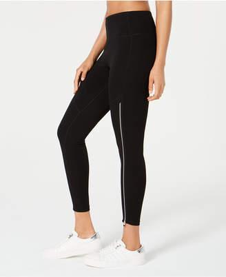 Calvin Klein High-Rise Zipper Leggings