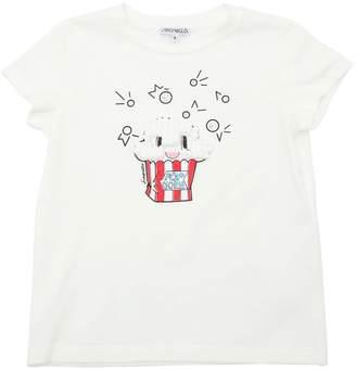 Simonetta Popcorn Print Cotton Jersey T-Shirt