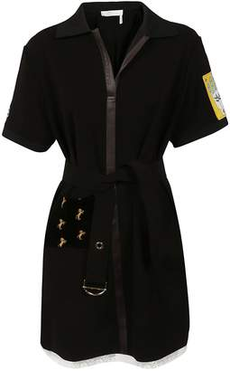 Chloé Self-tie Waist Dress