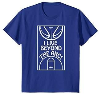 Basketball 3 Point Shooter Beyond the Arc T-shirt