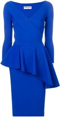 Chiara Boni Le Petite Robe Di peplum waist dress