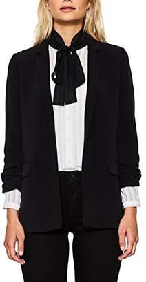 Esprit Women's 087eo1g029 Blazer, (Black 001)