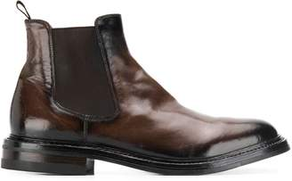 Officine Creative elasticated sides ankle boots