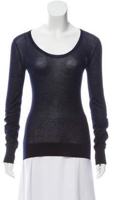 The Row Long Sleeve Bateau Sweater