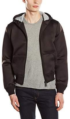 Schott NYC Men's SWBLADE2 Plain Hooded Long Sleeve Hoodie,(Manufacturer Size: M)