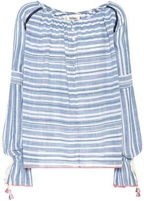 Lemlem Kosi striped cotton blouse