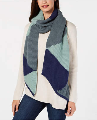 Vince Camuto Triangle Patchwork Muffler