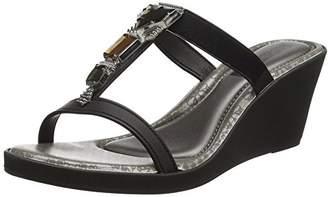 grendha Women's Jewel III Wedge Open Toe Sandals,37 EU