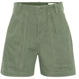 Citizens of Humanity Cassidy cotton high-rise shorts