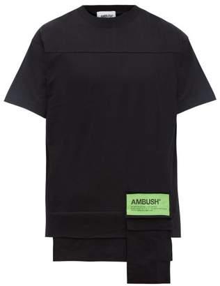 Ambush Waist Pocket Cotton T Shirt - Mens - Black