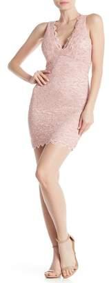 Jump Racerback Glitter Sequin Lace Dress
