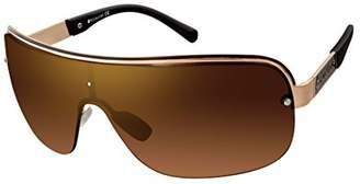 Rocawear Men's R1480 Gldbk Non-Polarized Iridium Shield Sunglasses