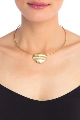 Cole Haan River Rocks Large Pebble Wire Pendant Necklace