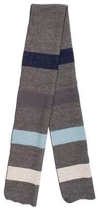 Steven Alan Striped Wool Scarf