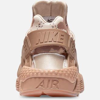 Nike Men's Huarache Run Camo Casual Shoes