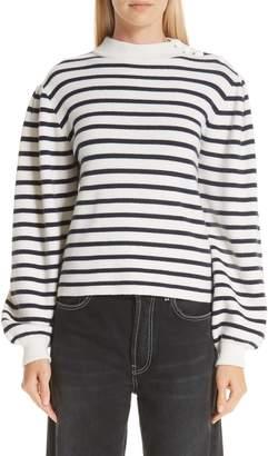 Ganni Stripe Knit Sweater