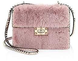 Valentino Women's Small Rockstud No Limit Mink Shoulder Bag