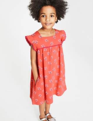 Boden Frill Sleeve Jersey Dress