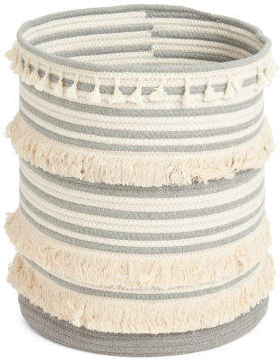 Natural Rope Storage Hamper Basket