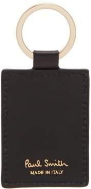 Paul Smith Artist Stripe Key Ring - Mens - Black