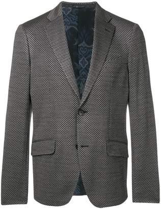 Etro patterned classic blazer