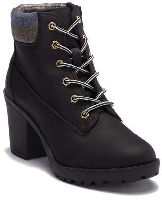 Ziginy Kiana Lace Up Work Boot