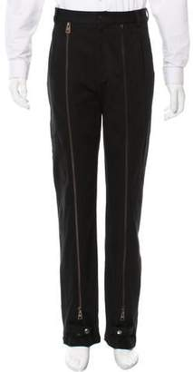 J.W.Anderson Flat Front Zipper-Accented Pants w/ Tags