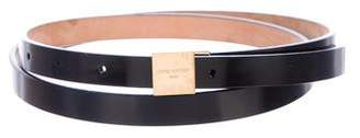 Louis Vuitton Skinny Leather Belt