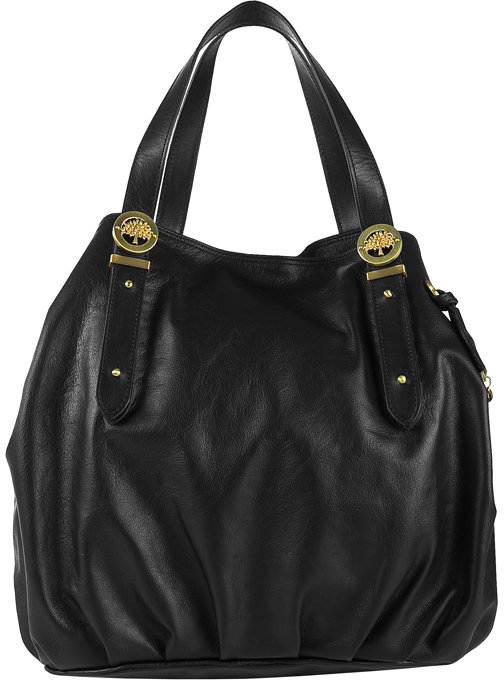 Mulberry Black Drew Tote Soft Buffalo