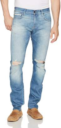 7 For All Mankind Men's Paxtyn Skinny Tapered Jean in Outlaw Stretch Selvedge
